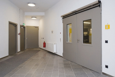 Противопожарные металлические двери
